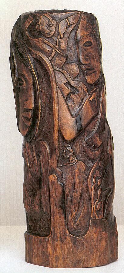 sculpture bois gauguin